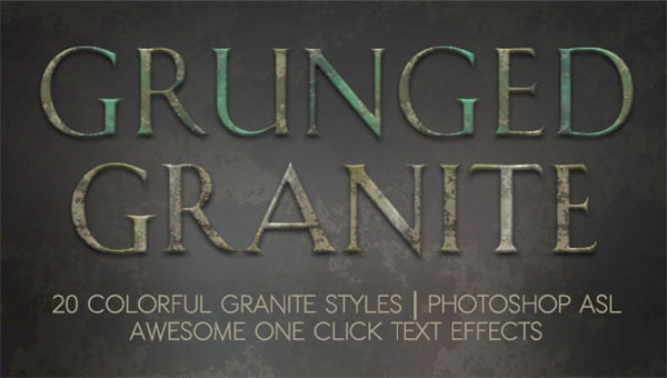 Grunge Granite Layer Styles