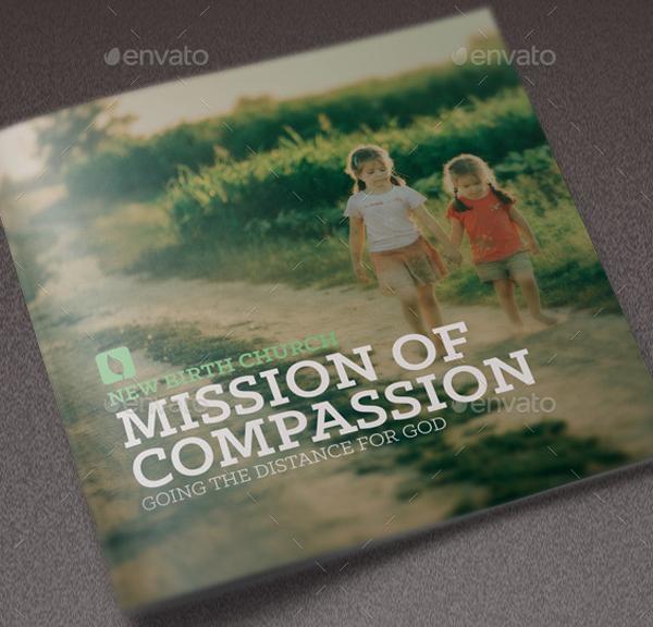 Mission of Compassion Church Brochure Design