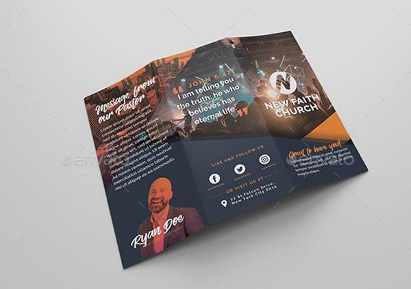 Non Profit Church Brochure