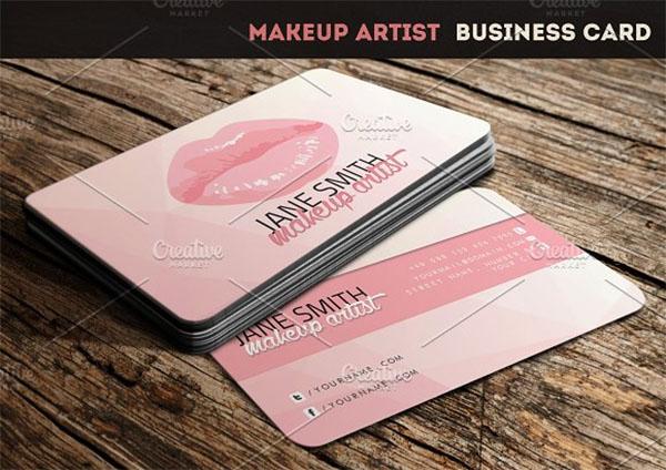 54 Makeup Artist Business Cards Free