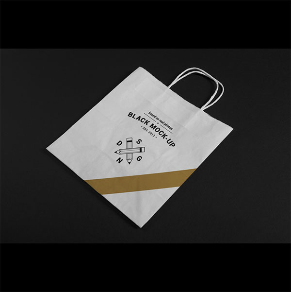 Paper Bag Mock Free PSD