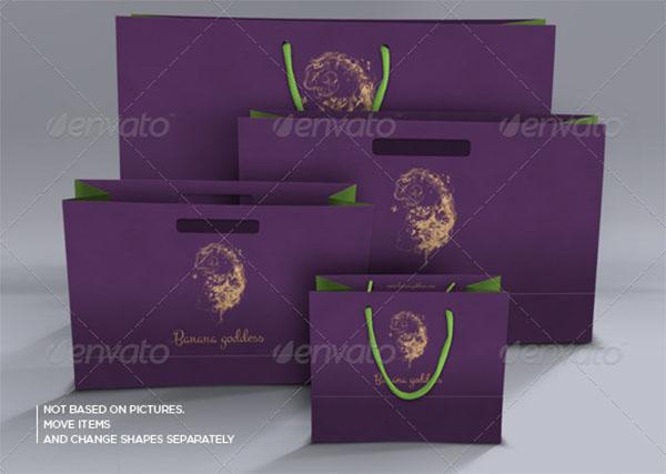 Paper Bags Mockups Design