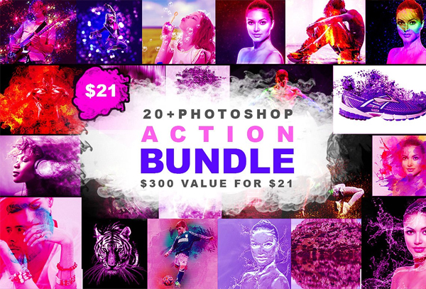 Photoshop Actions Big Bundle