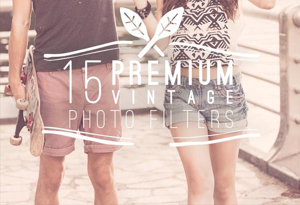Premium Vintage Photo Filters
