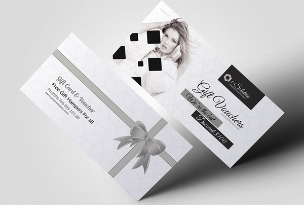 Printable Fashion and Flexible Gift Voucher