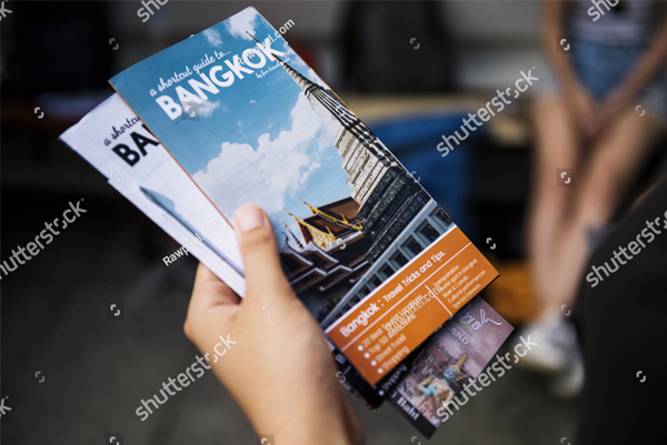Printable Travel Guide Brochure Template