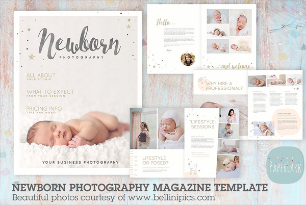 Professional Newborn Photography Magazine