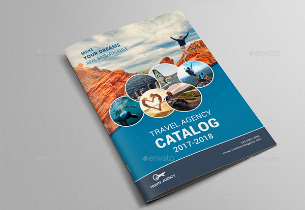 Professional Travel Agency Brochure Template