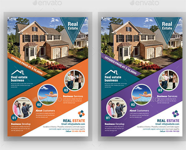 Real Estate Residential Flyer Templates