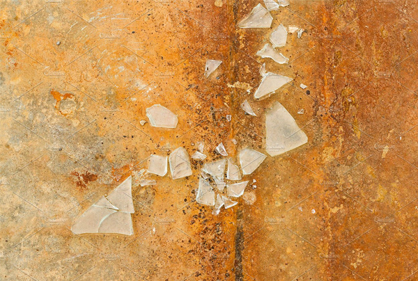 Shards of Broken Glass Texture