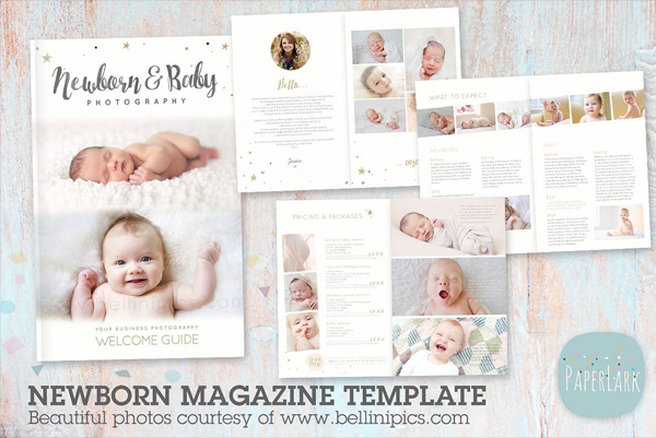 Simple Newborn Photography Magazine