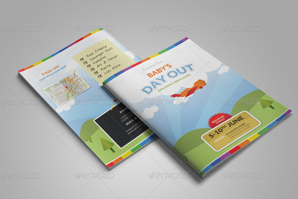 Summer Camp Brochure and Magazine