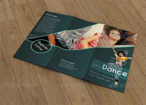 Trifold Brochure- Dance Design Studio