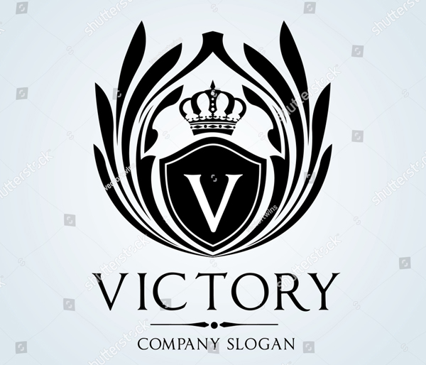 Victory Luxury Vintage Crest Logo Template