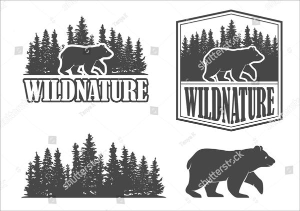 Vintage Forest Logo Template