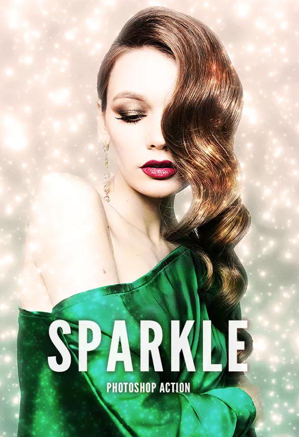 Beautiful Sparkle Photoshop Action