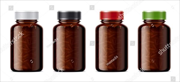 Blank Bottles Mockup
