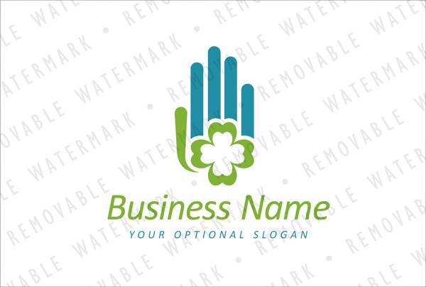 Business Hand Logo