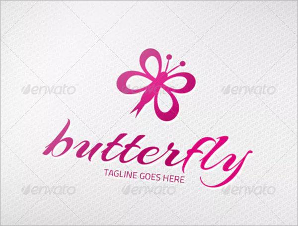 CMYK Butterfly Logo