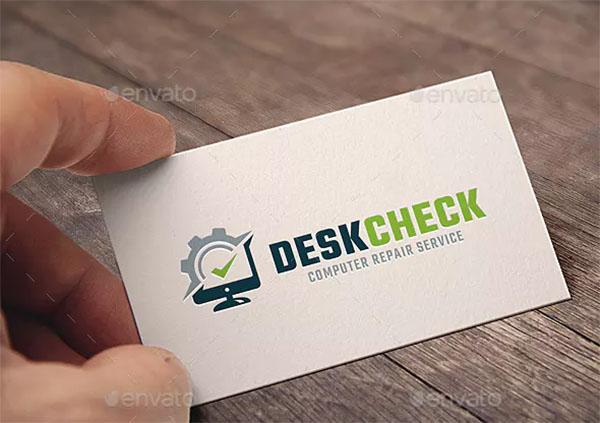 Computer Check Logo Design