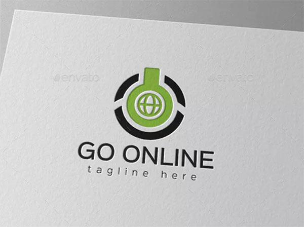 Computer Power Online Logo Template