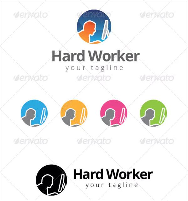 Computer Programmer Logo Template