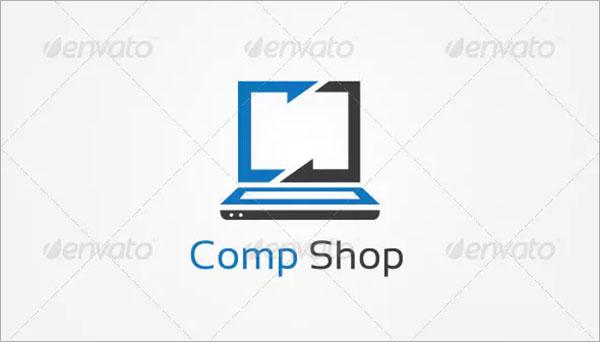 Computer Shoppe Logo Template