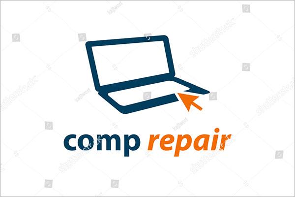 Creative Vector Computer Logo