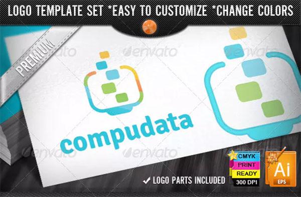 Data Computer Logo Designs