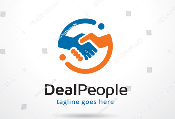 Deal People Logo Template