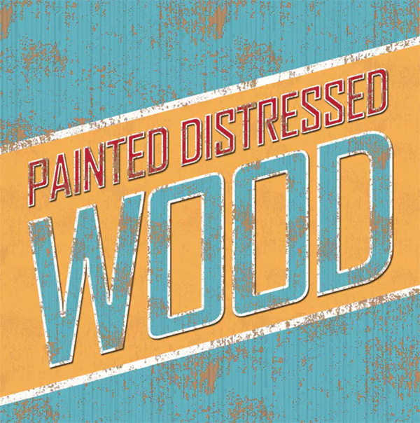 Distressed Painted Wooden Styles