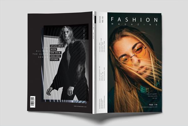 Fashion & Lifestyle Magazine Cover