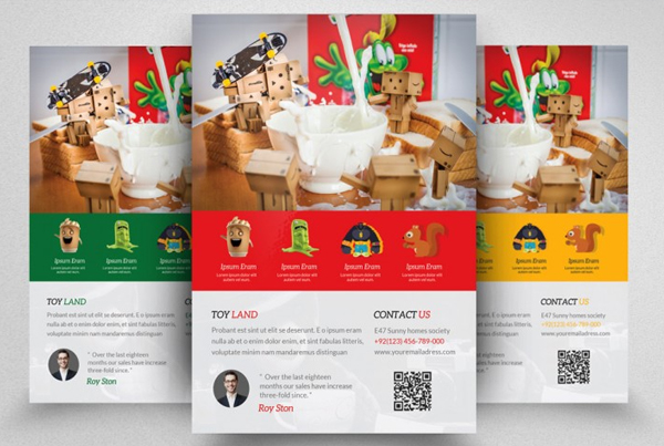 Food Product Promotion Flyer