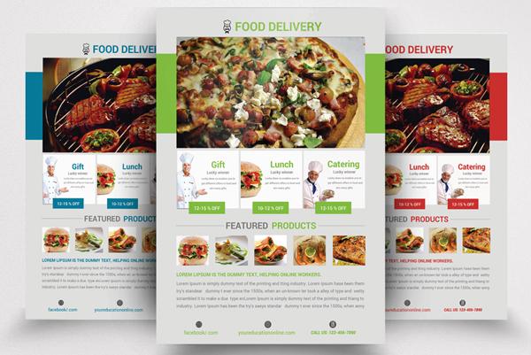 Food Restaurant Flyer Template