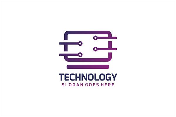Free Computer Technology Logo