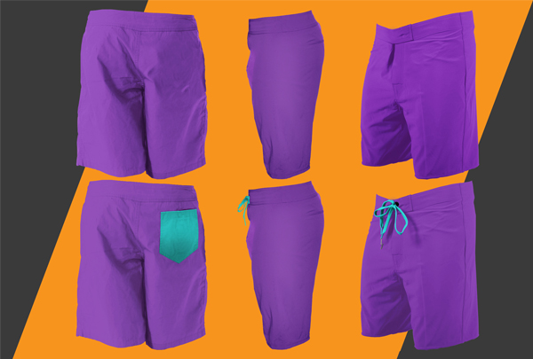 Free Shorts Mockup Template