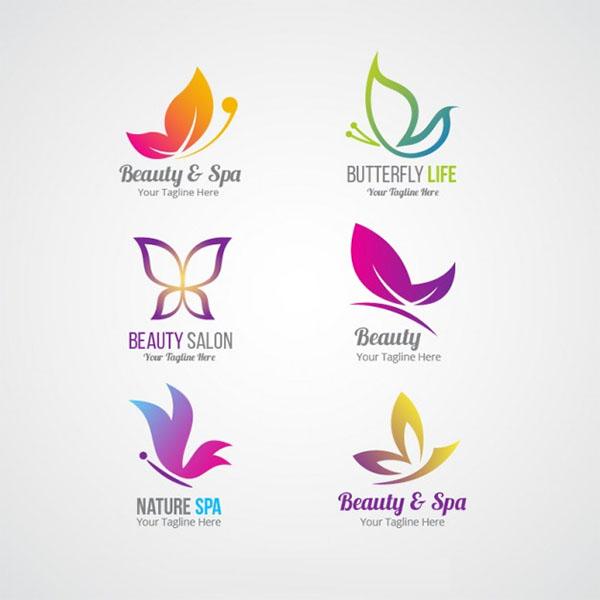 Free Vector Beauty Logos