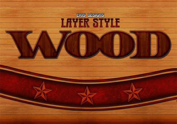 Free Wood Photoshop Layer Styles
