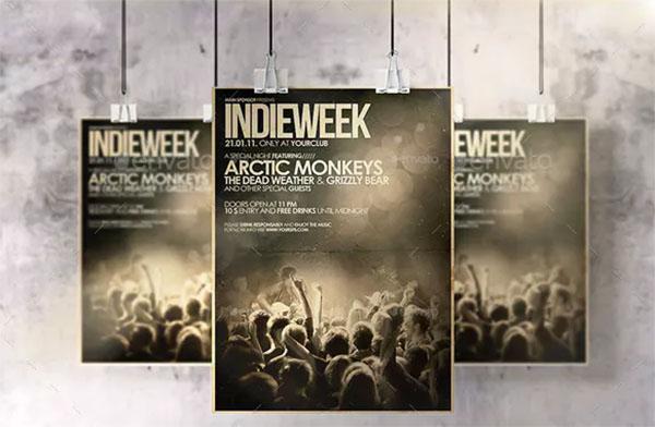 Hanging Poster & Flyer Mockup