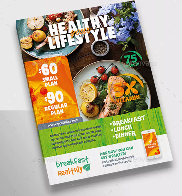 67+ Best Food Flyer Templates – Free & Premium PSD Vector EPS PNG ...