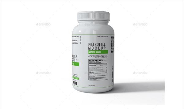 High Resolution Photoshop Pill Bottles Mock-up