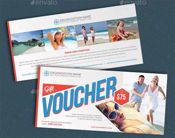 Holiday and Vacation Gift Voucher