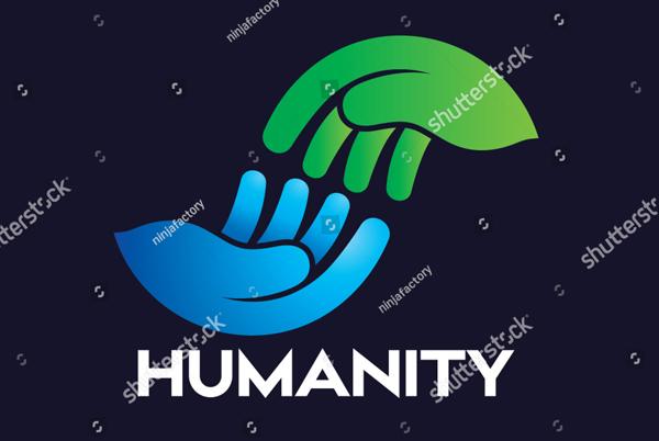 Humanity Hand Logo