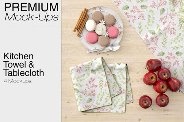 Kitchen Towel & Tablecloth Set
