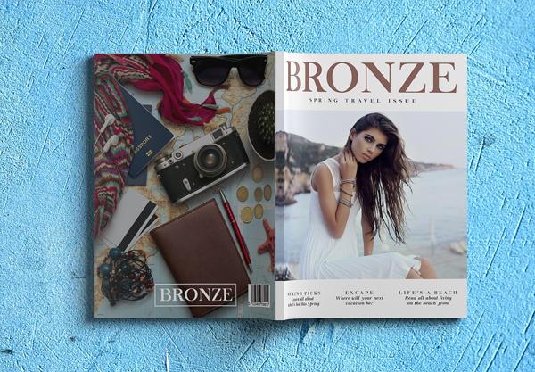 Luxury Lifestyle Magazine Cover