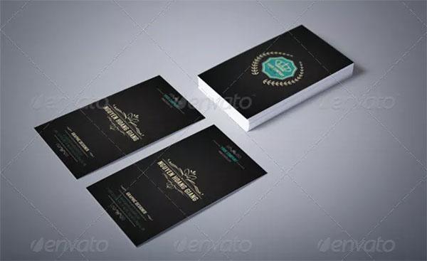Luxury Retro Business Card Template