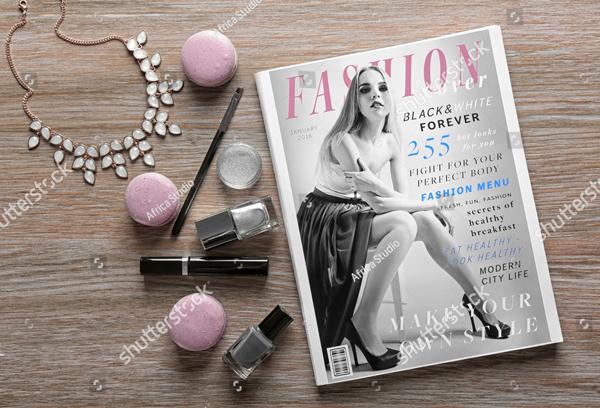Makeup Products Fashion Magazine