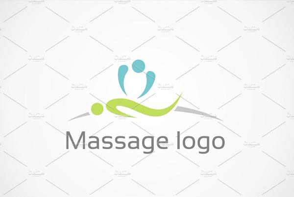 Massage Best Hands Logo Templates