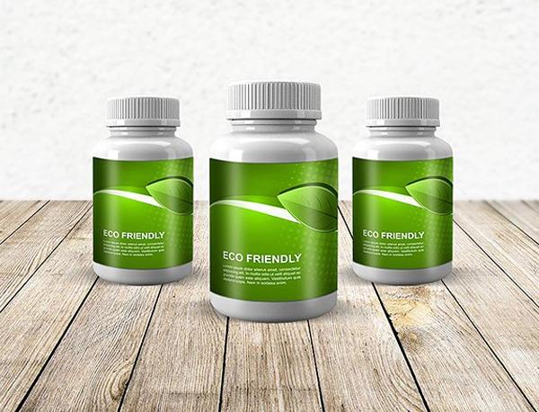Medicine Pills Bottle Mock-up
