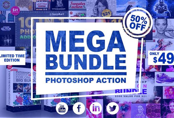Mega Bundle Photoshop Action